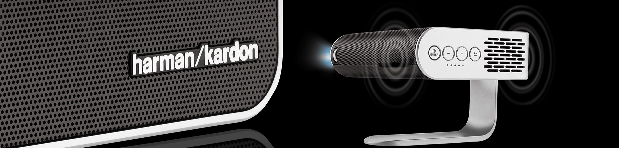 viewsonic m1 harman kardon geluid