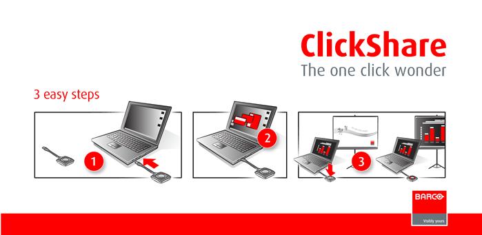 Barco ClickShare CSE-200 - Projektory, ekrany, tablice ...